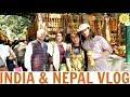 INDIA + NEPAL VLOG | MEG + FIN