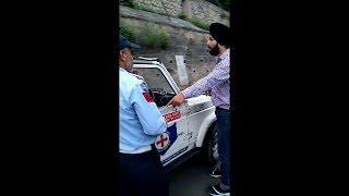Sardar Fight with police