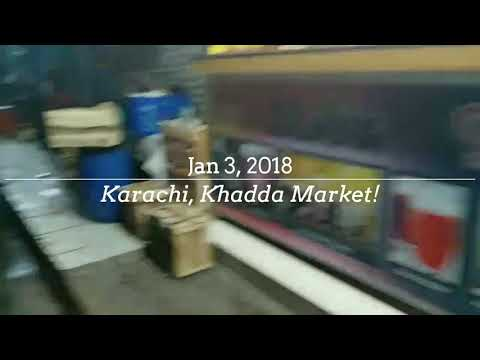 Coconut water with mallai - Narial pani mallai wala in karachi, Khada market