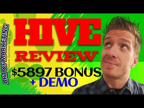 Hive Review 🐝Demo🐝$5897 Bonus🐝Hive App Review🐝🐝🐝