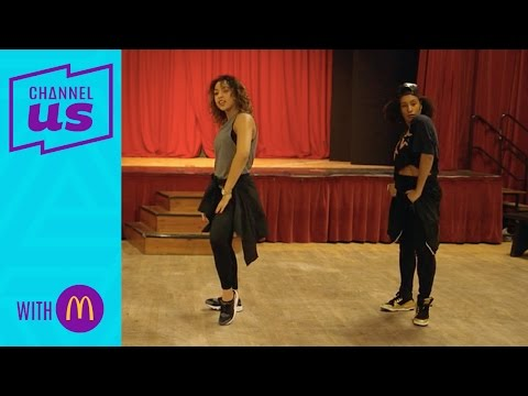 Creating the dance routine | 72 hours to become a choreograp