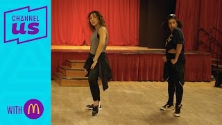 Creating the dance routine | 72 hours to become a choreographer