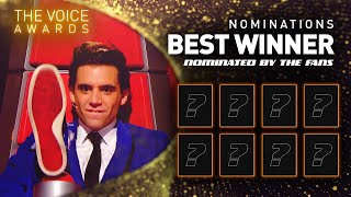 BEST WINNER of The Voice: The nominees | The Voice Awards 🏆