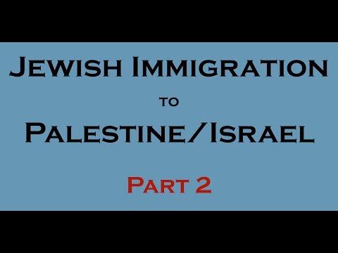 10 Facts - Jewish immigration to Palestine/Israel? (1947-2014)