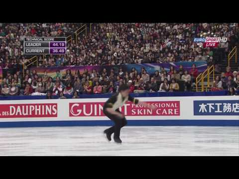 2014 Worlds   Men   SP   Takahiko Kozuka   Unsquare Dance by Dave Brubeck