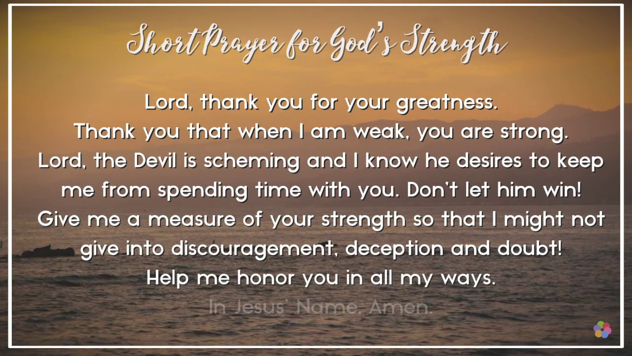 10 Prayers for a Stronger Faith (in Good or Hard Times!)