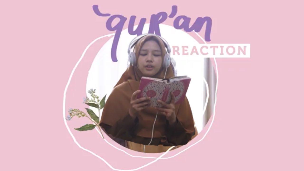 "One Minute Booster ""Qur'an Reaction by Evhie (QS. Al-Furqan: 56-58)"""