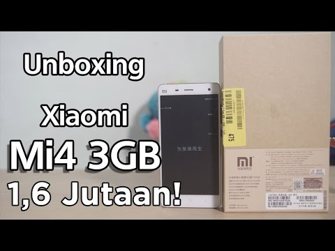 Unboxing Xiaomi Mi4 3GB 4G hanya 1,6 juta (Indonesia)
