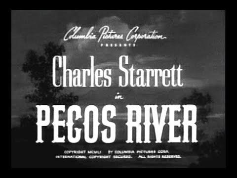 The Durango Kid - Pecos River - Charles Starrett, Smiley Burnette, Jock Mahoney