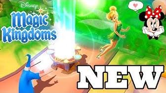 NEW LAND! EXPANDING THE KINGDOM 😍 Disney Magic Kingdoms | Gameplay Walkthrough Ep.485
