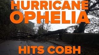 Hurricane Ophelia hits Cobh