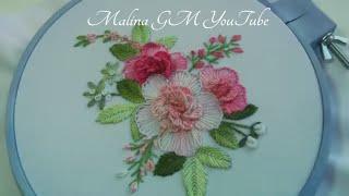 Bordando Flores – Bordado em ponto floral