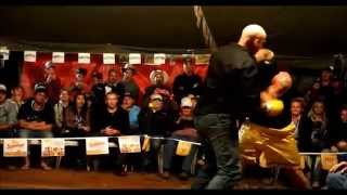 Explosive tent fight - Cole Wilson & Mt Isa Miner - Outback Fight Club - 2015