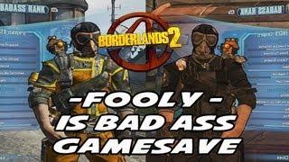 borderlands 2 black weapon game save