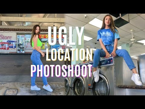 UGLY LOCATION PHOTOSHOOT W/ SISTER thumbnail