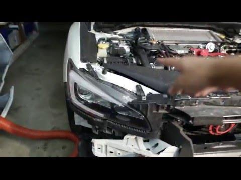 2015 Subaru WRX STI Brake Duct DIY Part 1/2