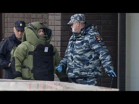 شاهد: اعتقال رجل هدد بنسف بنك في موسكو بمتفجرات  - 19:58-2020 / 5 / 23