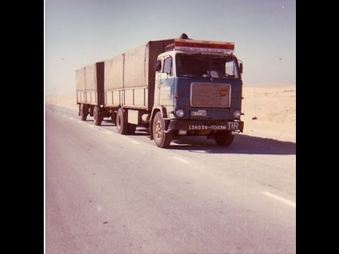1972 London to Tehran - Road transport - Volvo F88