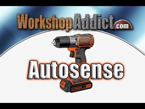 Black & Decker 20 V Max Drill / Driver with Autosense Technology