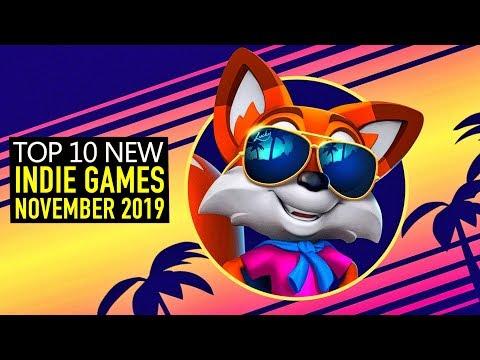 Top 10 NEW Indie Games of November 2019