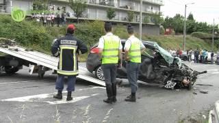 Duas vítimas mortais em acidente na VIM