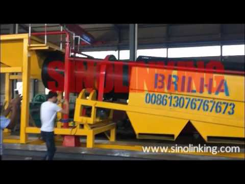 100tph Long Scrubber Trommel Wash Plant For Diamond Recovery For Angola Clients