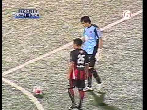 LDA vs UCR, Gol Alfonso Quesada