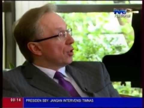 TVRI Interviews Russian Ambassador H.E. Mikhail Yurievich Galuzin