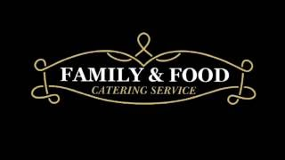 Family & Food Catering Service Flyer
