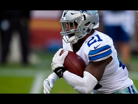 8d8713a21 Ezekiel Elliott vs Eagles (NFL SNF Week 8 - 2016) - 146 Yards! | NFL  Highlights HD - YouTube