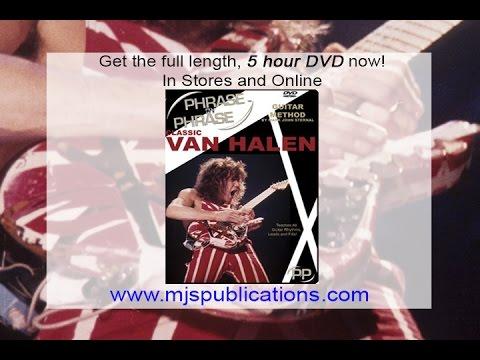 Van Halen Panama Eddie EVH Full Guitar Lesson by Mark John Sternal