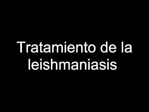 Tratamiento de la leishmaniasis