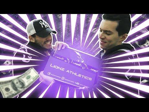 ON SE BAT POUR LA NOUVELLE COLLECTION LIONZ ATHLETICS !!