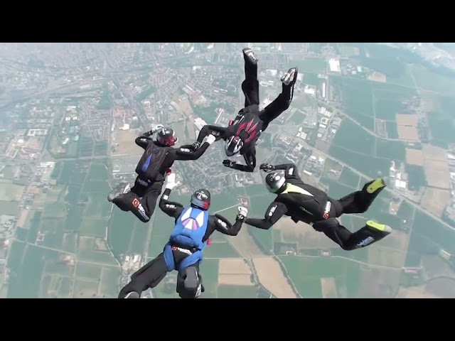 Skydiving by Standby Team    TEKIMA