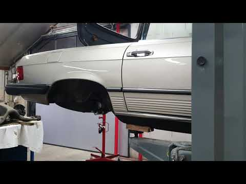 Onderhoud wielophanging Mercedes