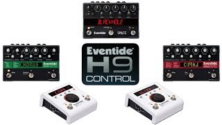 update eventide stompboxes for h9 control software