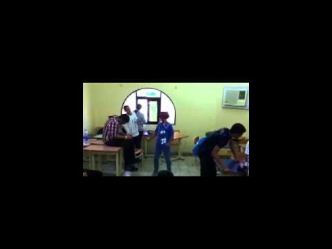 Harlem shake in egyptian language school