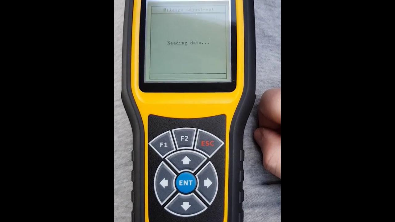 OBDSTAR X300M Failing Test in Tiguan 2014