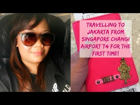 Travelling By Air Asia From Singapore Changi Airport Terminal 4 |  Travel Vlog Jakarta, Indonesia