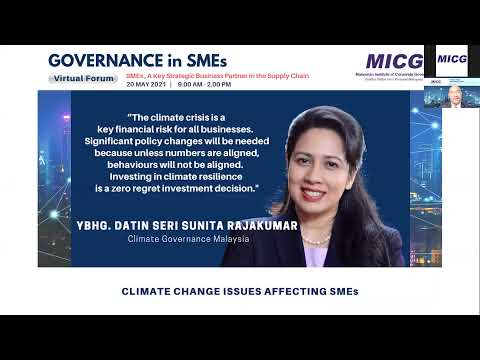 Governance in SMEs: Leaving a footprint for the next generation