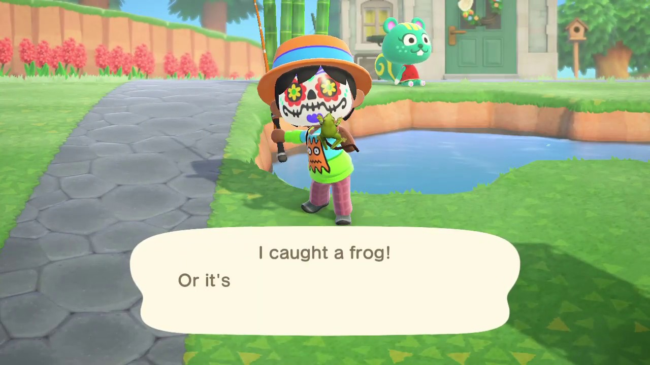 How to Catch a Frog in Animal Crossing New Horizons 2020 ...