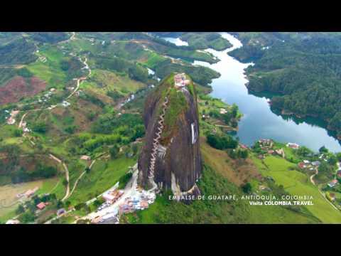 Ventanas a Colombia: Embalse de Guatapé, Antioquía