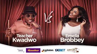 "EMELIA BROBBEY tells Teacher Kwadwo about her ""VOICE"" in new music.😂"