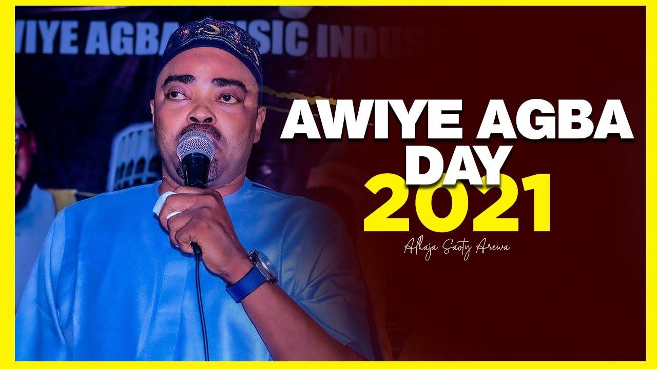 Download SAOTY AREWA LATEST LIVE PERFORMANCE AT AWIYE AGBA DAY 2021