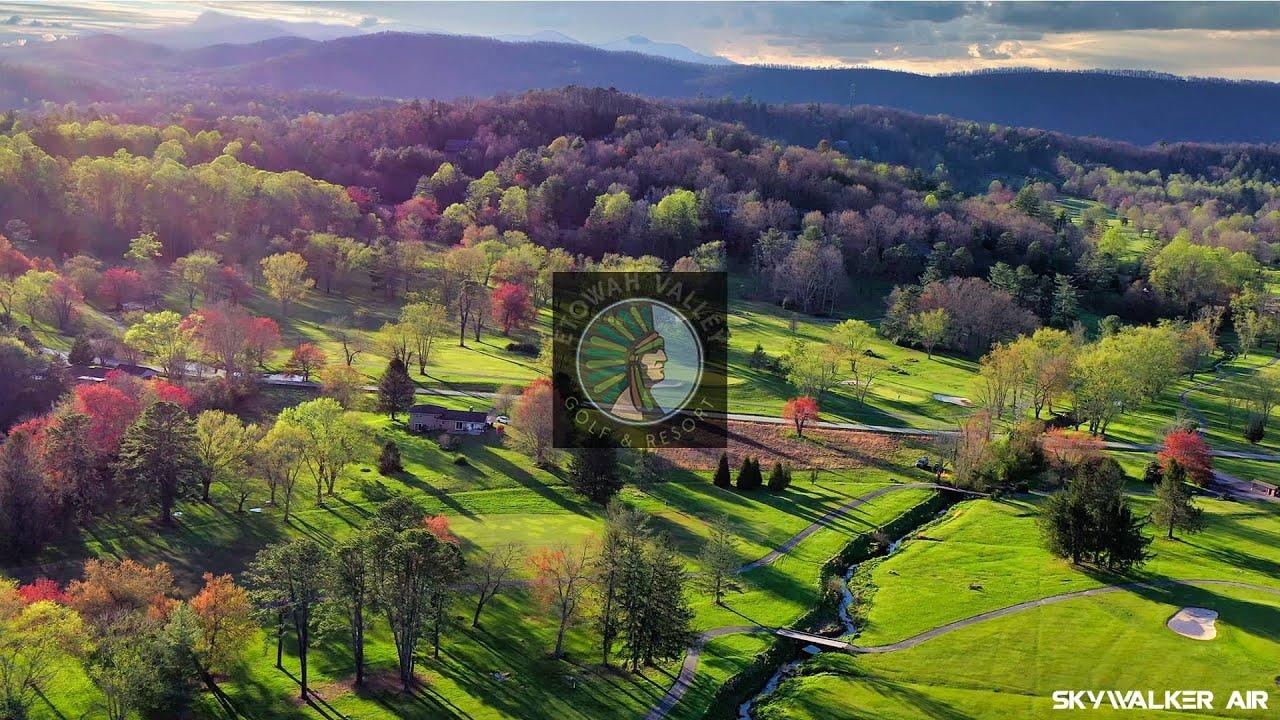 Etowah Valley Golf And Resort  - 4K Drone Footage