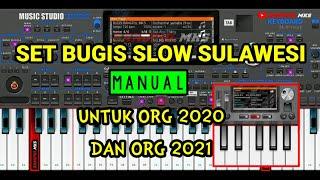 SET BUGIS SLOW SULAWESI    STYLE ORG 2020 DAN ORG 2021