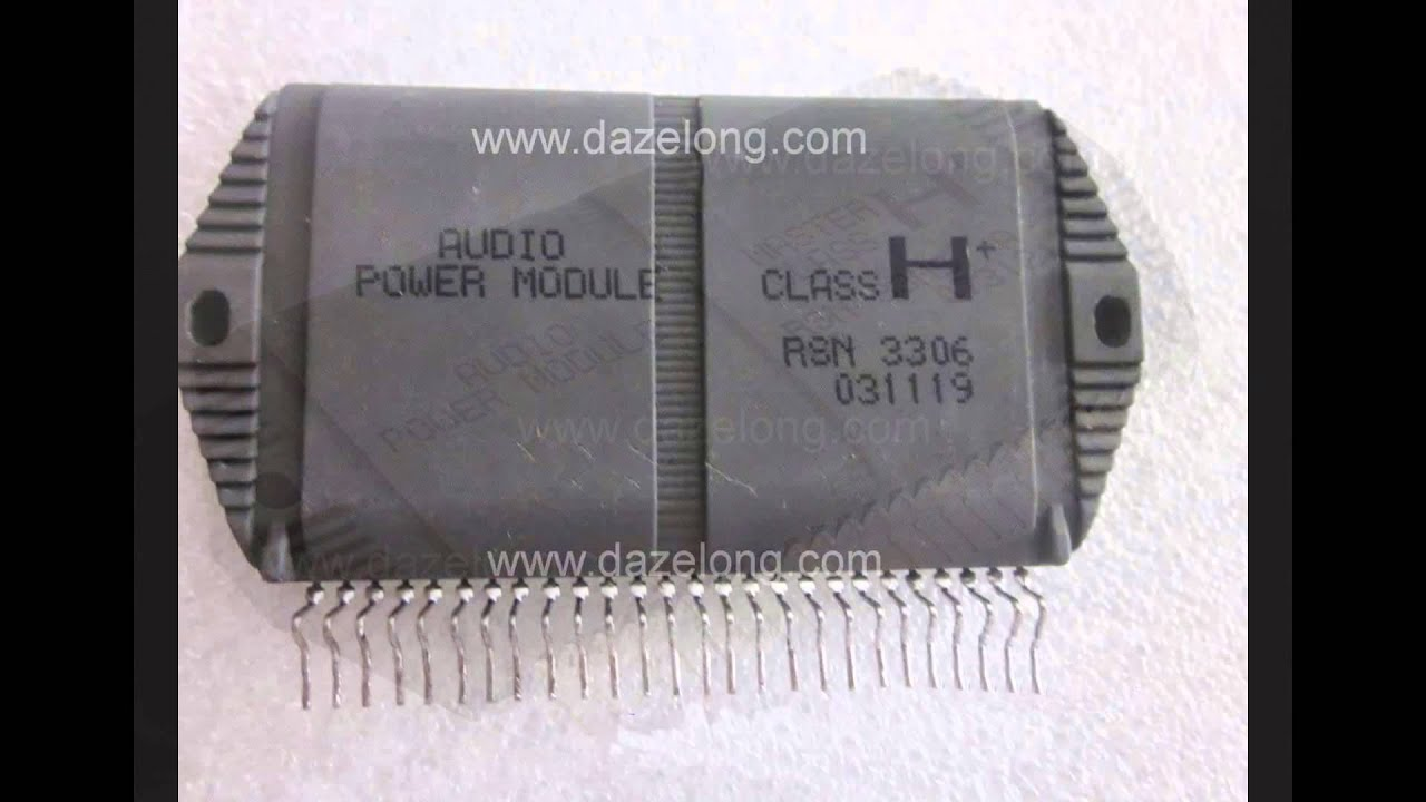 Rsn3303 Rsn3305 Rsn3306 Rsn33m5 Audio Power Mosfet Amplifier Circuit
