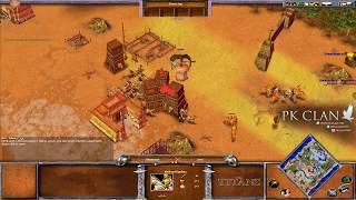 Age of Mythology: TOP EXPERTS Illuminaze Vs. Kimo | $50 Bo5 Commentated Game 2