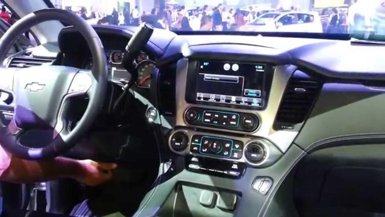 Chevrolet Tahoe 2015 Video Interior Colombia