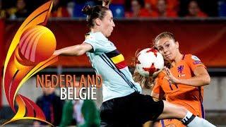 België - Nederland (groepsfase) I EK vrouwenvoetbal